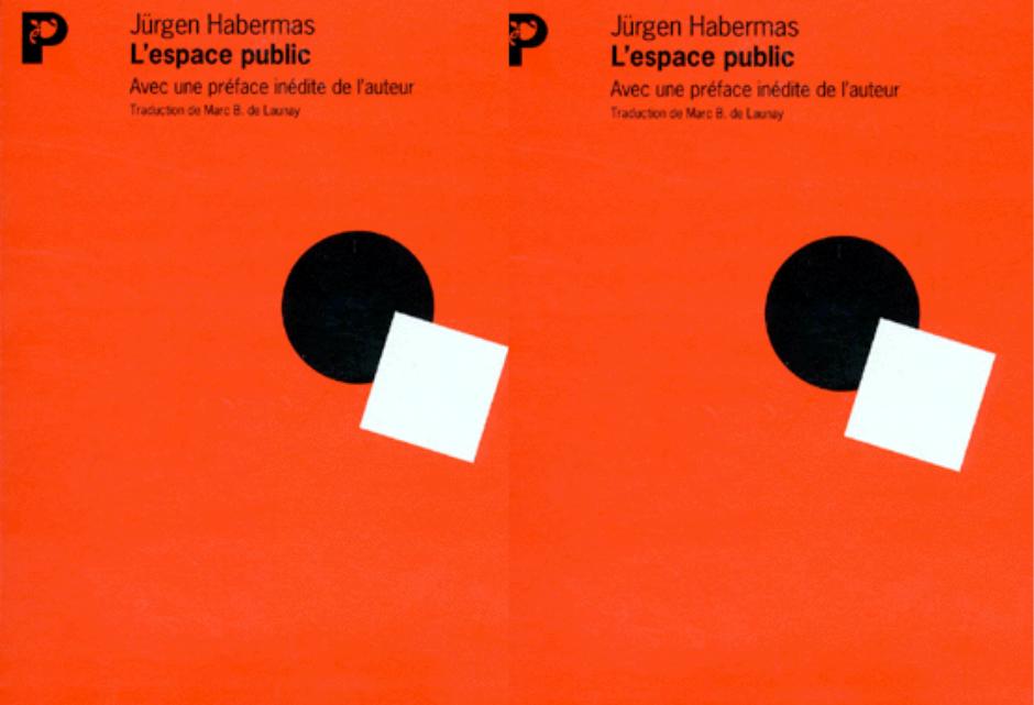Recension – L'espace public de Jürgen Habermas (1962)